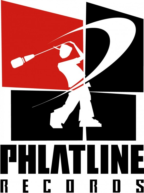PHLATLINE Records Logo (2003).
