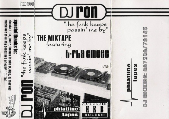 PHT001 #DJ Ron – The Funk Keeps Passin Me By Mixtape (1996).