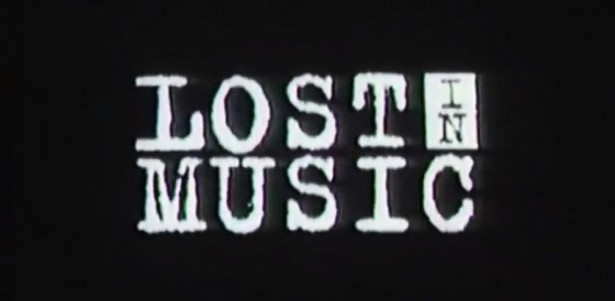 lost in music.