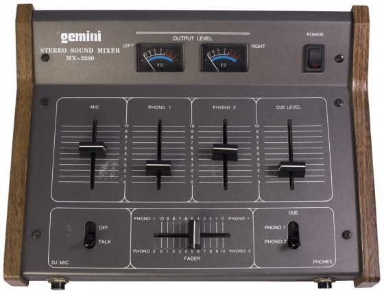 Gemini MX-2200 – © DJpedia.
