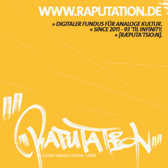 raputation.de Sticker (2014).