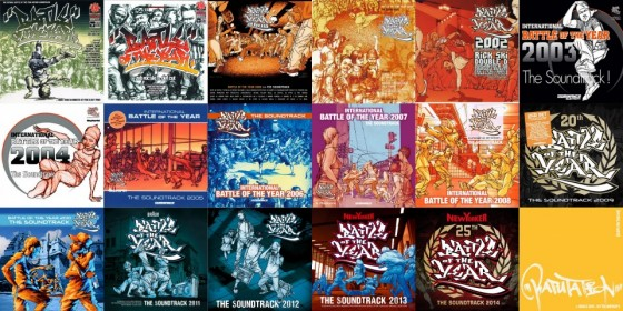 "Soundtracks ""Battle Of The Year"" (1997 – 2014)."