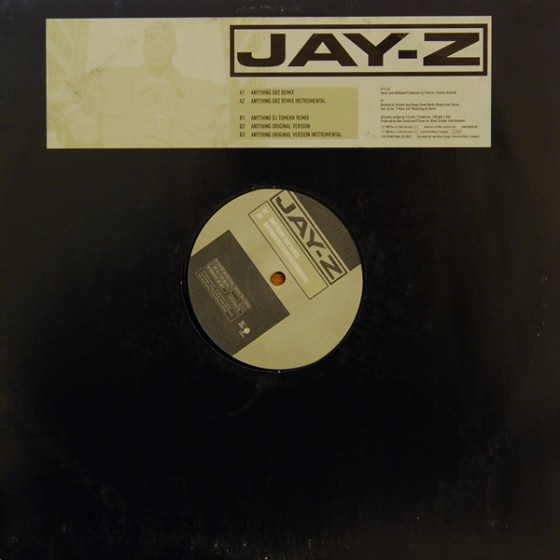 Jay-Z ‎– Anything (The Berlin Remixes) #B031936-01
