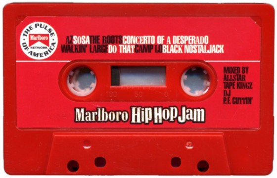 Marlboro Hip Hop Jam 1997 Promo Mixtape – Mixed P.F. Cuttin'.