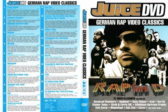 Juice 02/2005 – German Rap Video Classics DVD.