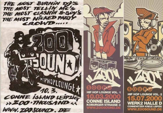 Flyer #Zoo Sound (2000).